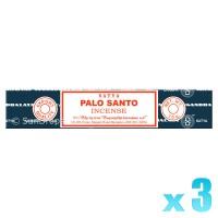 Satya Natural Series - Palo Santo (Holy Wood) - 15g x 3