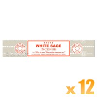 Satya Natural Series - White Sage - 15g x 12