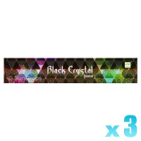 Satya Black Crystal - 15g x 3