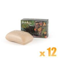 Kamini Vegetable Soap - Black Opium x 12